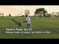 Alvaro Quiros Keys to Long Drives